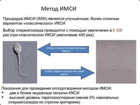 Процедура проведения ИМСИ